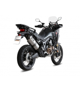 Silencieux Honda CRF1000L Africa Twin - MIVV Speed Edge inox
