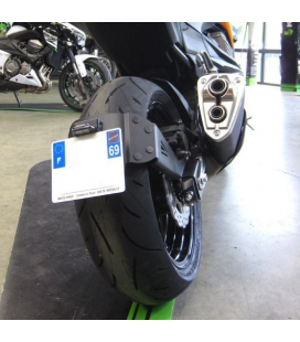 Support de plaque Kawasaki Z800 - Ras de roue Access Design