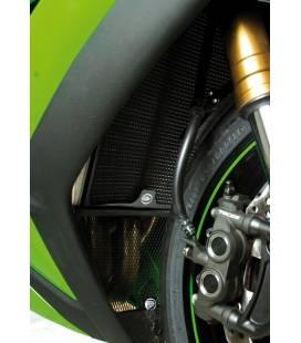 Protection de radiateur noir Kawasaki ZX-10R