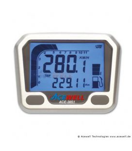 COMPTEUR DIGITAL ACEWELL MODELE 3851 SILVER YFM660R