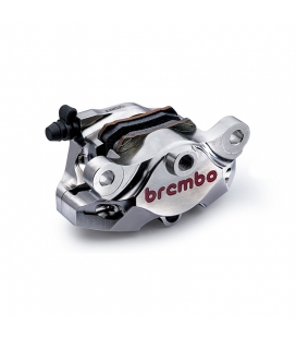 BREMBO ETRIER ARRIERE BREMBO P2 34 CNC NICKEL ENTRAXE 84mm