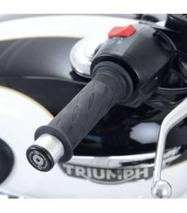 Embouts de guidon Triumph Bonneville T120 / RG Racing
