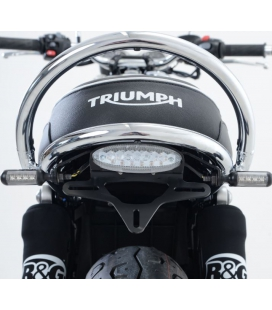 Support de plaque Triumph Bonneville T120 - RG Racing