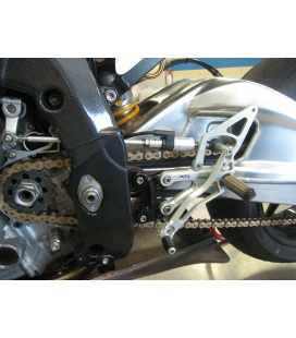 Commandes reculées BMW S1000RR 10-14 / Robby Moto EVO