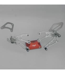 Commandes reculées Honda CBR600RR 07-12 / Robby Moto SBK