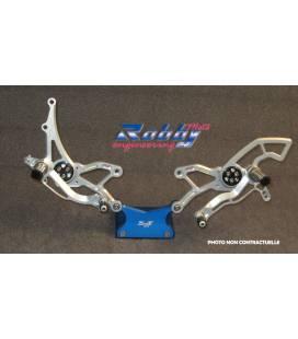 Commandes reculées Honda CBR600RR 07-12 / Robby Moto Race Inversées