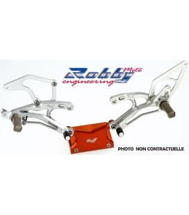 Commandes reculées Suzuki GSXR1000 12-16 / Robby Inversées