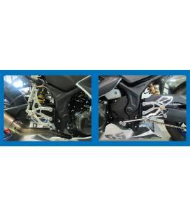 Commandes reculées Yamaha YZF-R3 / Robby EVO S