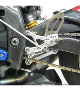 Commandes reculées Yamaha YZF-R6 06-07 / Robby SBK