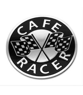 Ecussons de Réservoir en Aluminium CAFE RACER