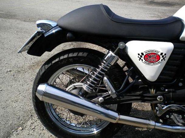 echappement mistral moto guzzi v7 id es d 39 image de moto. Black Bedroom Furniture Sets. Home Design Ideas
