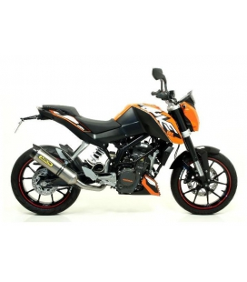 SILENCIEUX KTM DUKE 125 / ARROW STREET THUNDER