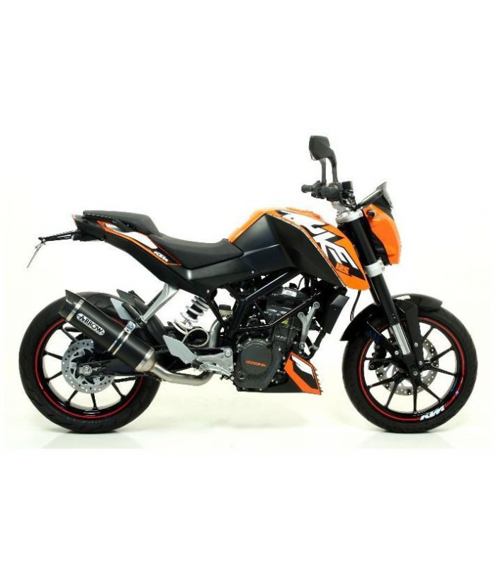 silencieux pour moto ktm duke 125 street thunder arrow 51510. Black Bedroom Furniture Sets. Home Design Ideas