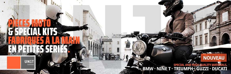 UNIT GARAGE - Pieces moto limitées faits main